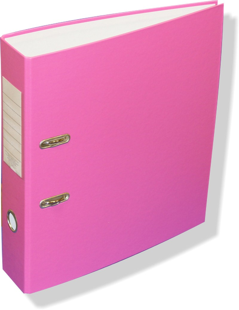 Анонс-изображение товара папка-регистратор  economy 75мм, фуксия 834310