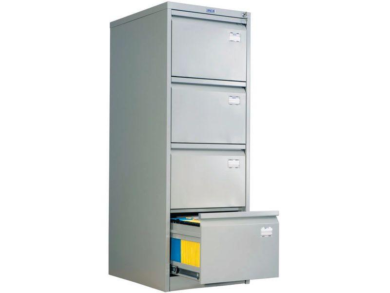 Шкаф для подвесных папок а4 afc-04, 4 ящика на 220 папок, (в.