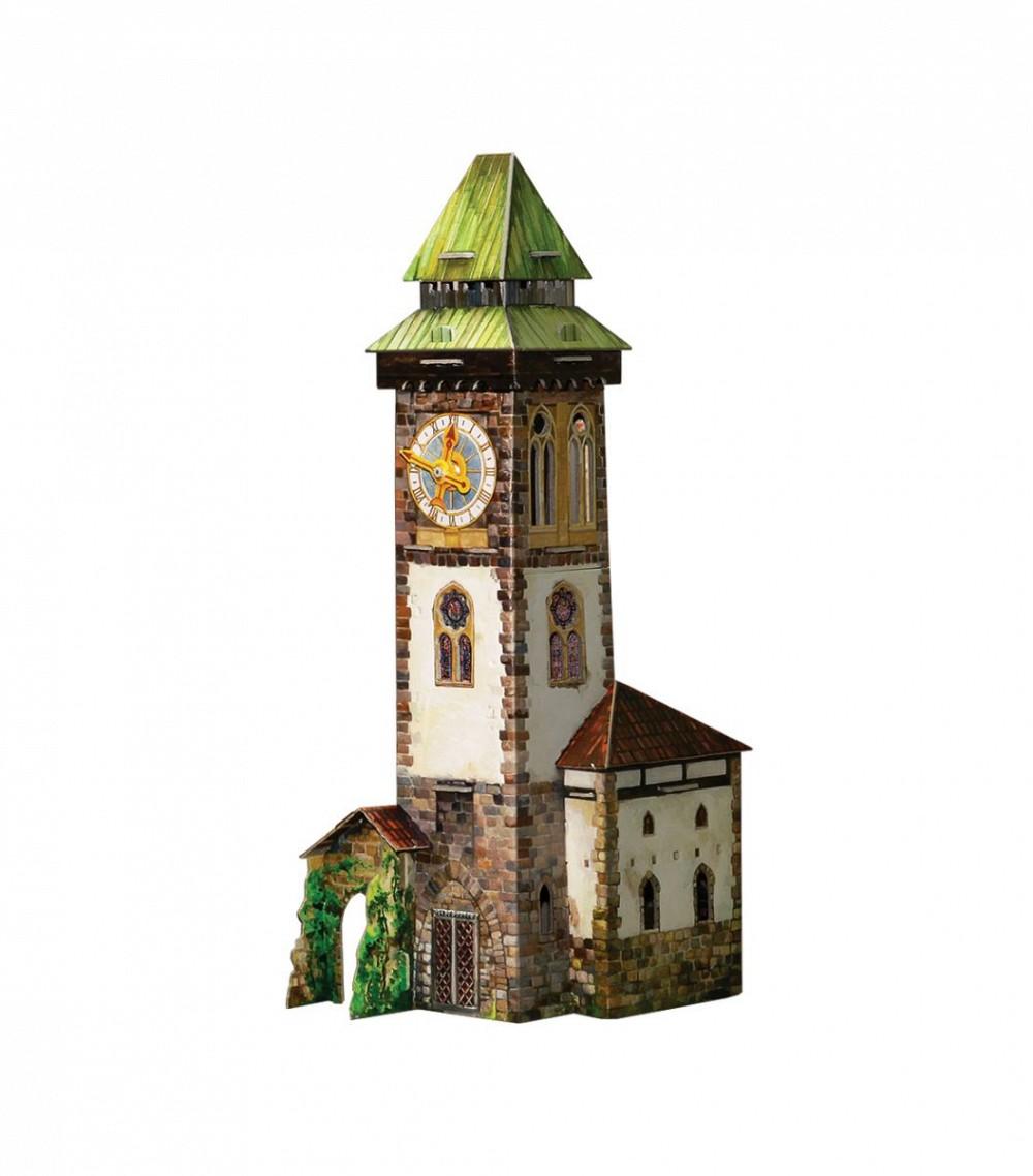 Анонс-изображение товара конструктор из бумаги башня с часами, 277