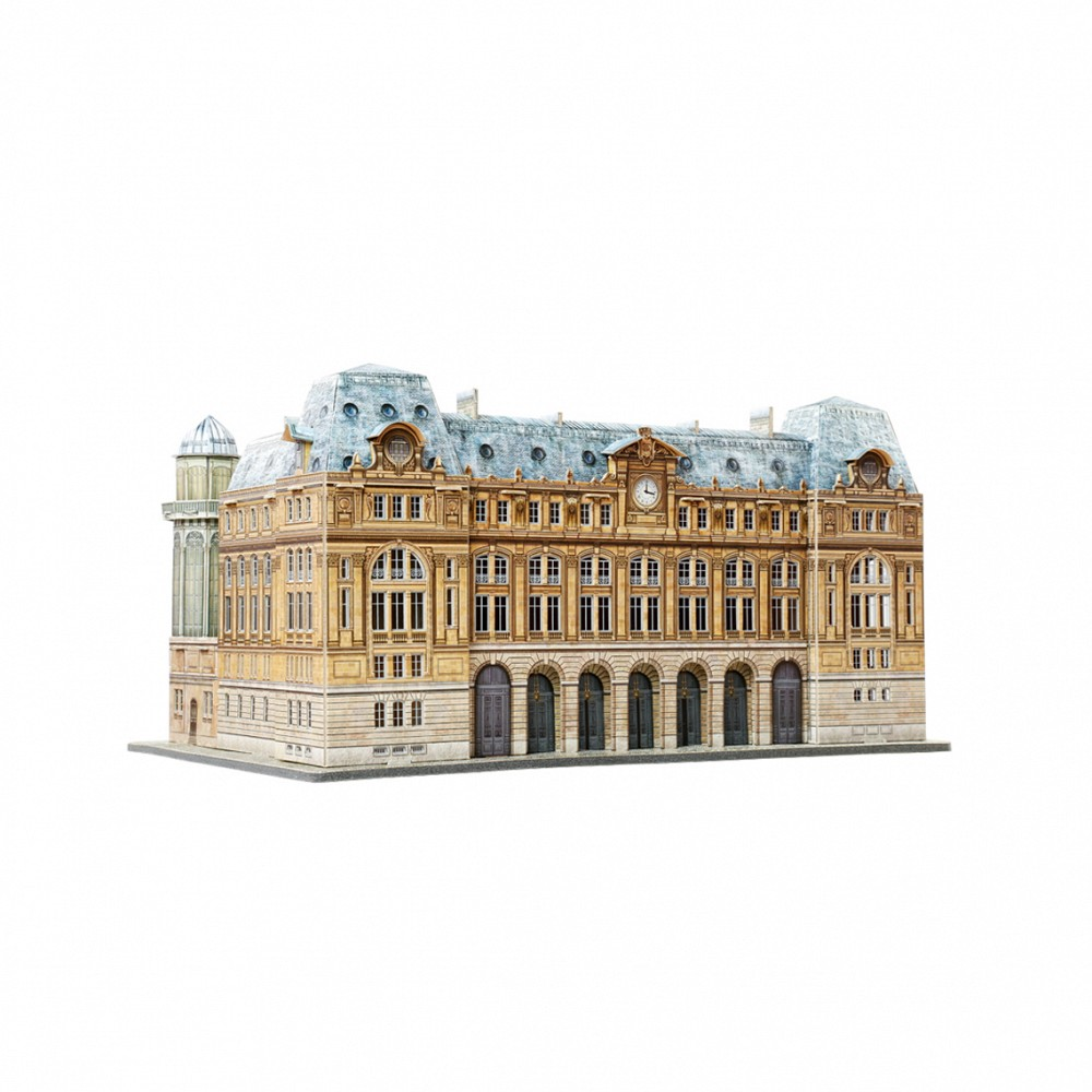 Анонс-изображение товара конструктор из бумаги вокзал сен-лазар. париж, 301