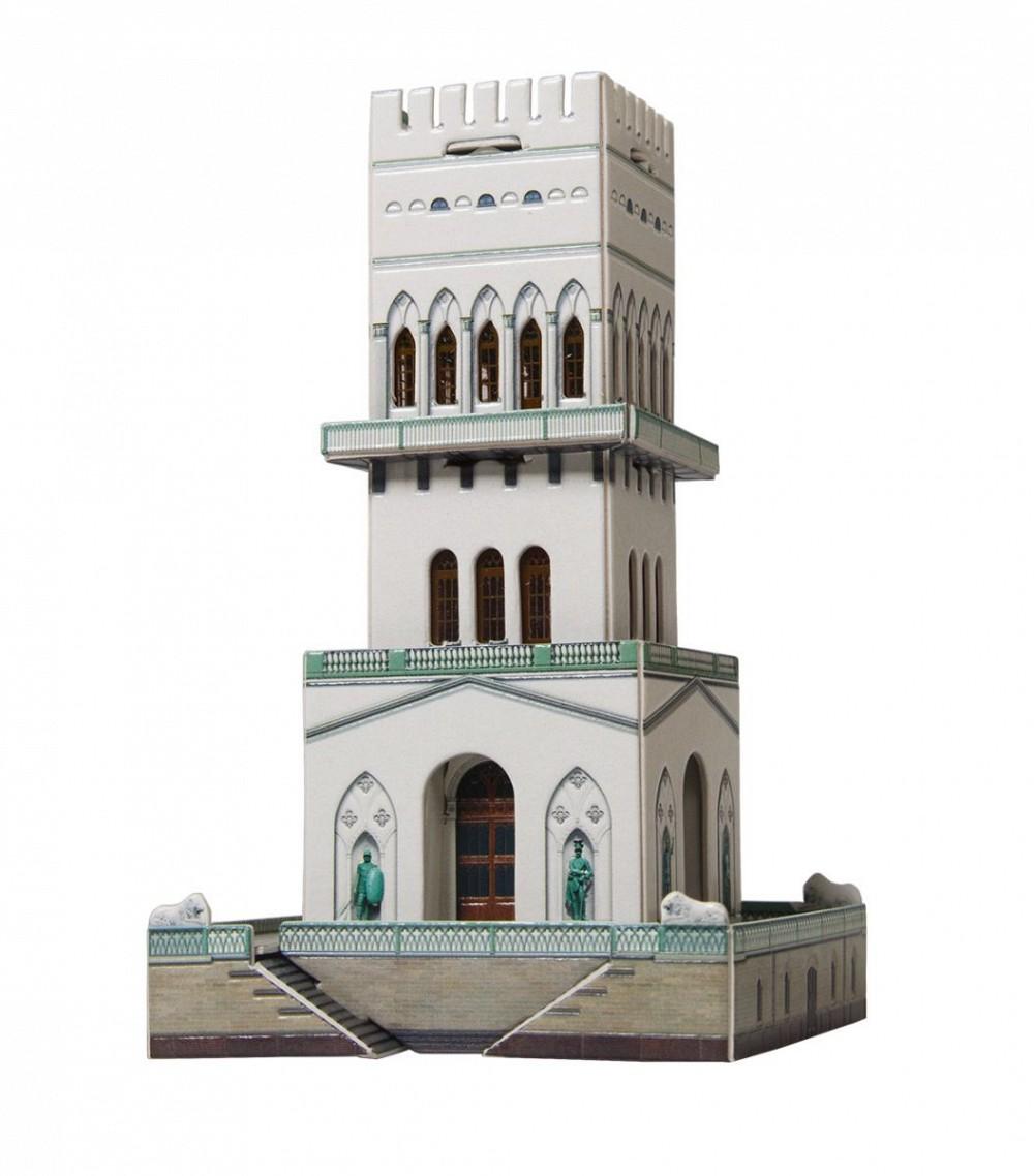Анонс-изображение товара конструктор из бумаги белая башня, 406