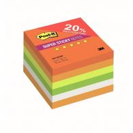 Блок-кубик 3M Post-it Super Sticky 654-6SSRP Огонь 76х76, 6бл х 90л