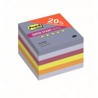 Блок-кубик 3M Post-it Super Sticky 654-6SSBP  Воздух  76х76, 6бл х 90л.