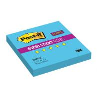 Блокнот суперклейкий 3M Post-it 654R-SB Super Sticky, 76х76мм, 90л, голубой