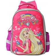 Ранец Super bag  Mattel Barbie, жесткий корпус