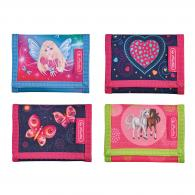 Кошелек Herlitz Girls Mix,  8х11,5х2см, 4 мотива