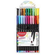 Graph Pep`S Ручка Капиллярная, Толщина Линии - 0,4 Мм, Эргономичная Зона Обхвата, 20 Цветов