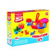 Пластилин EK Animation Set, 3 банки*35гр