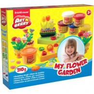 Пластилин EK My Flower Garden, 6 банок*35гр