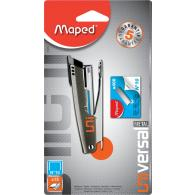 Степлер 12л Maped Universal METAL 10, ассорти