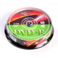 Диск DVD+R VS 4,7GB, 16x, cakebox/10шт