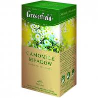 Чай Greenfield Camomile Meadow (Камомайл Медоу), травяной 25 пакетиков