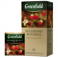 Чай Greenfield Wildberry Rooibos трав, 25пак