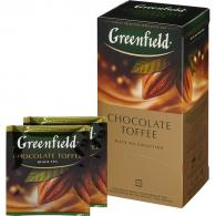 Чай Greenfield Chocolate toffee черный 1,5гx25пак