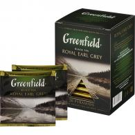 Чай Greenfield Royal Earl Grey черн фольг. пирамидки 20 пак/уп