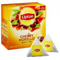 Чай Lipton Cherry Morello черный пирамидки 20пак/уп
