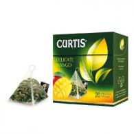 Чай Curtis Delicate Mango Green Tea зеленый, 20 пак