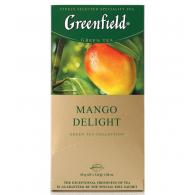 Чай Greenfield Mango Delight (Манго Делайт), белый, 25 пак /уп