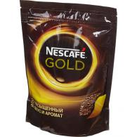 Кофе Nescafe Gold, растворимый, 150 г, пакет