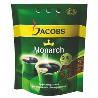 Кофе Jacobs Monarch, растворимый, 500 г, пакет