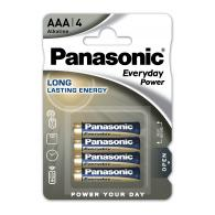 Батарейка щелочная Panasonic LR03 (AAA) Everyday Power (Standard) 1.5В бл/4