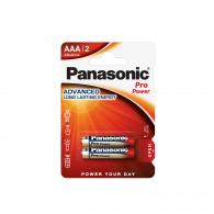 Батарейка щелочная Panasonic LR03 (AAA) Pro Power (Xtreme) 1.5В бл/2