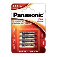 Батарейка щелочная Panasonic LR03 (AAA) Pro Power (Xtreme) 1.5В бл/4